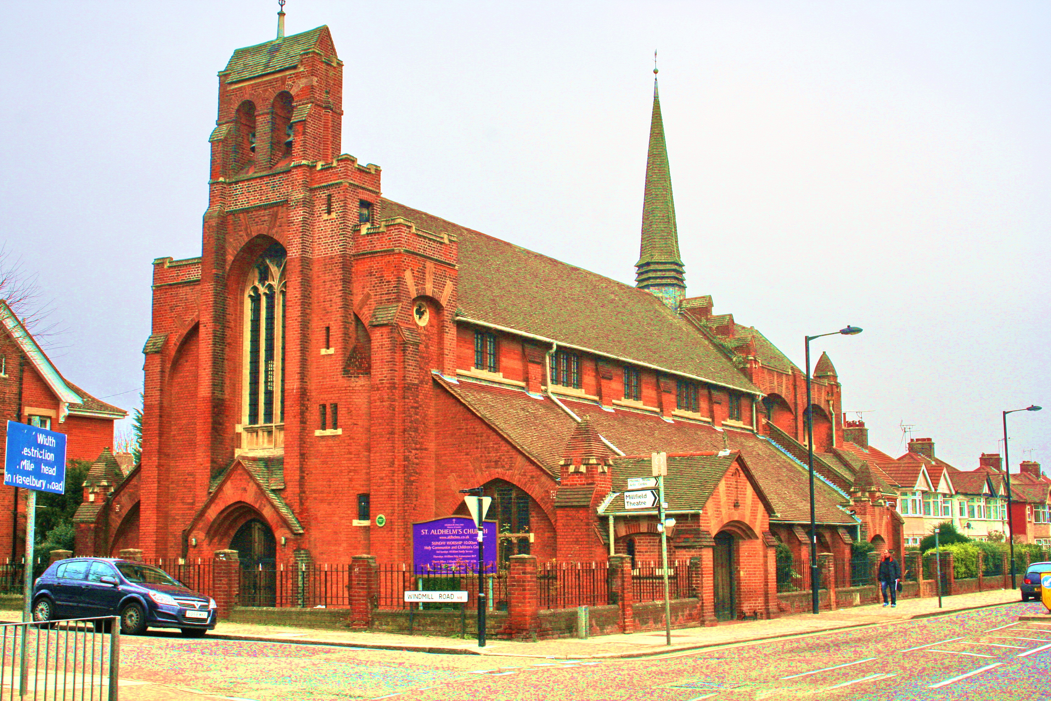 St Aldhelm's Church Is On The Corner Of Silver Street And Windmill on n18